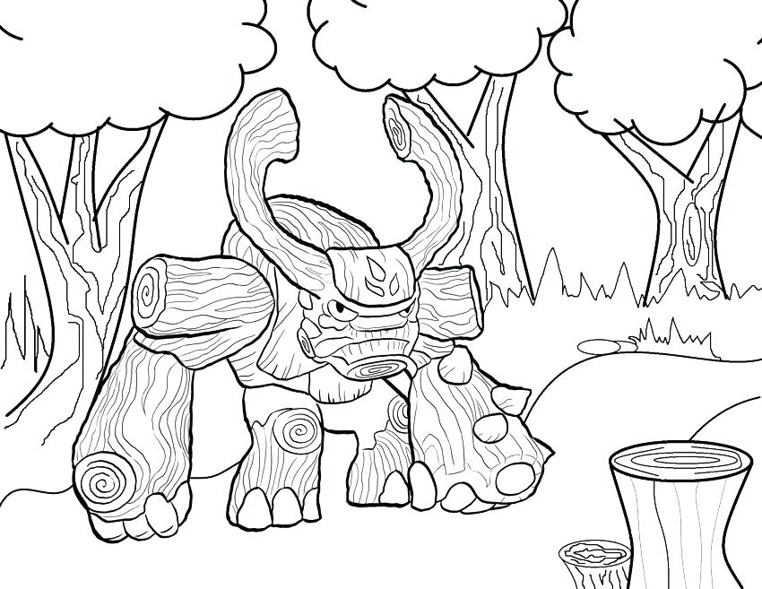 850x657 Skylanders Color Pages Elegant Coloring Pages Able Image Giants