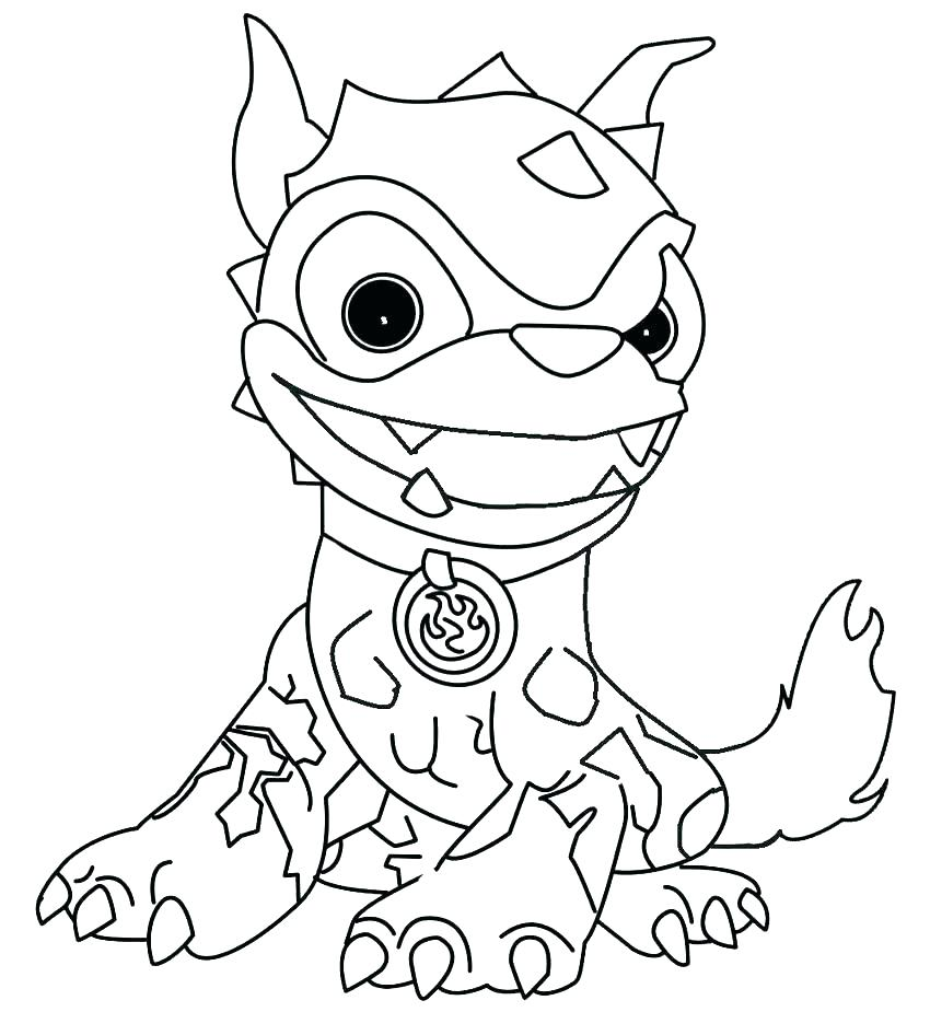 850x925 Skylanders Color Pages Elegant Coloring Pages Printable Image