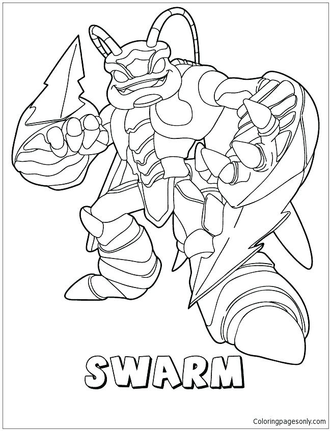 Skylanders Swap Force Coloring Pages At Getdrawings Free Download
