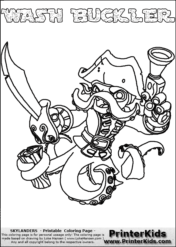 Skylanders Swap Force Coloring Pages At Getdrawings Com Free For