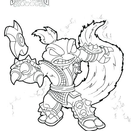 440x440 Trap Team Golden Queen Coloring Pages Trap Team Golden Queen