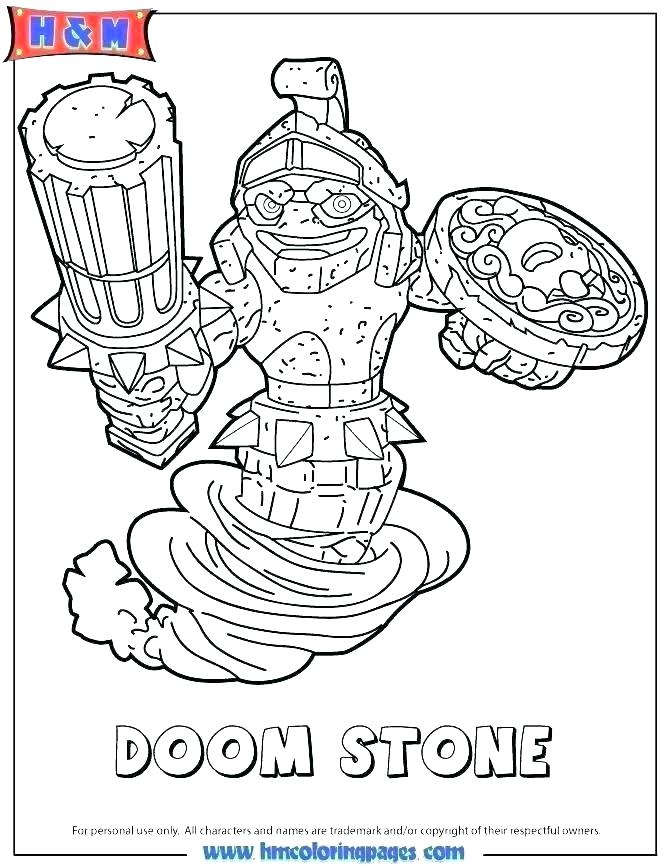 670x867 Coloring Pages Of Skylanders Coloring Pages Coloring Pages