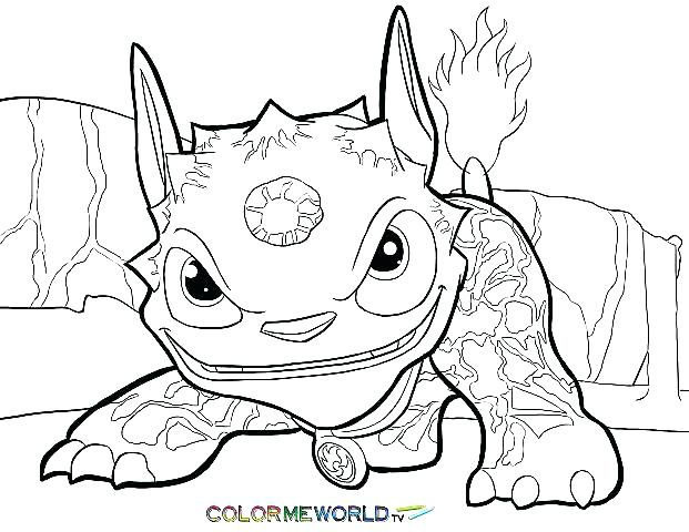 621x480 Coloring Pages Of Skylanders Trap Team Coloring Pages Gallery Free