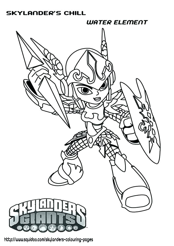 736x1041 Skylanders Trap Team Coloring Pages Food Fight Kids Coloring