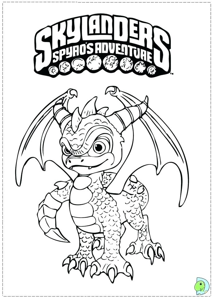 691x960 With O D Colouring Pages Adventure Colouring Pages Skylanders Trap