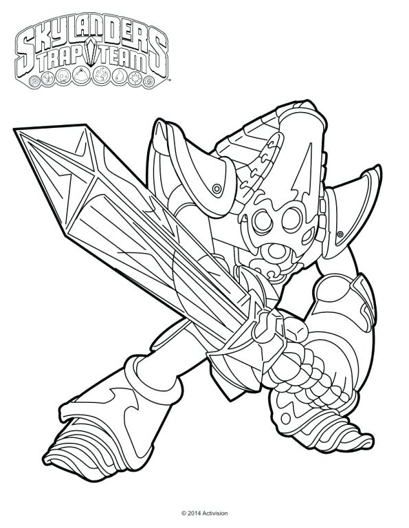 Skylanders Trap Team Coloring Pages at GetDrawings.com | Free for ...