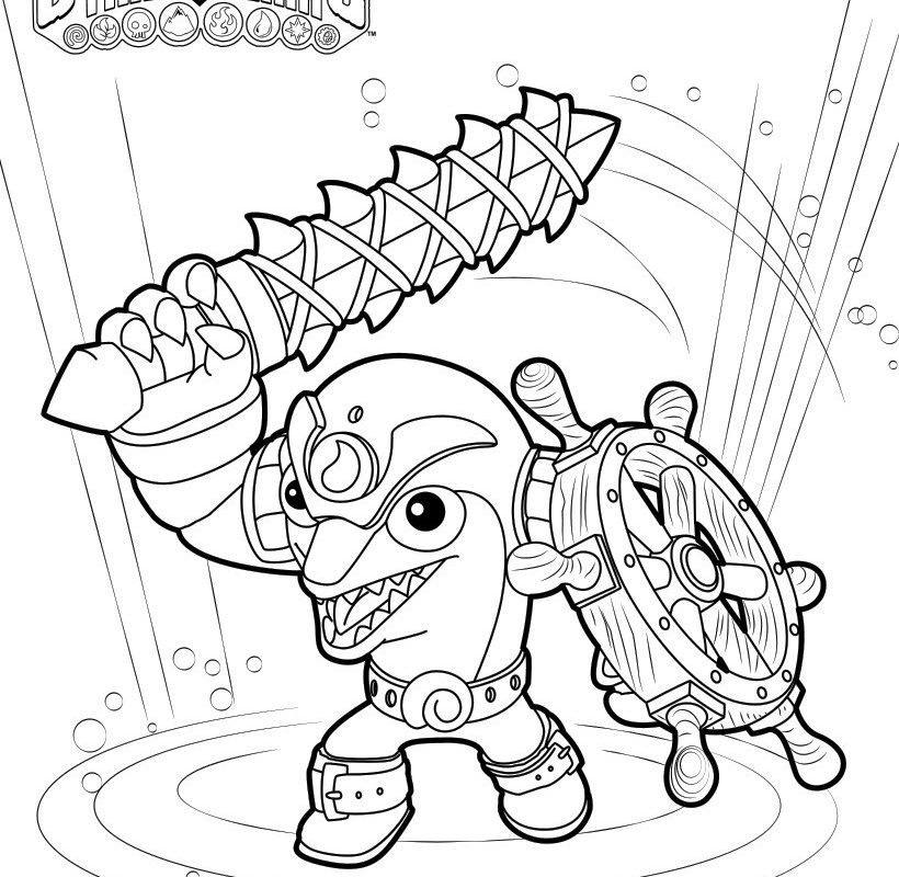 820x800 Echo Coloring Page Pages To Print Trap Team Colouring