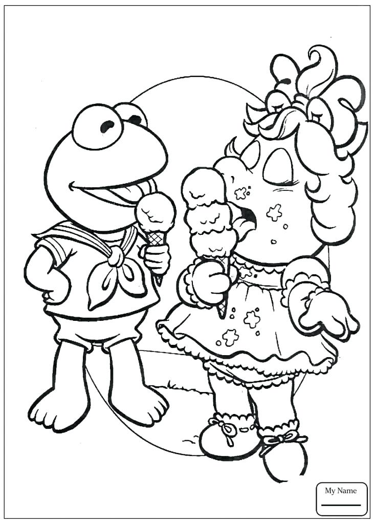 731x1024 Muppet Coloring Pages Face Of Pepper The Coloring Pages Muppets