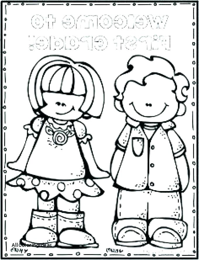 680x890 School Building Coloring Pages School Building Coloring Pages