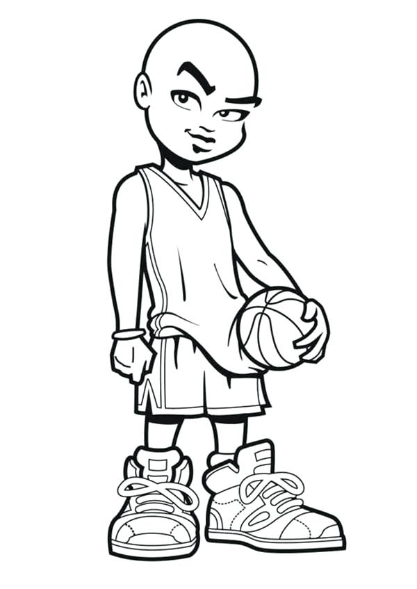 600x847 Coloring Pages Nba Coloring Pages Free Printable Coloring Pages