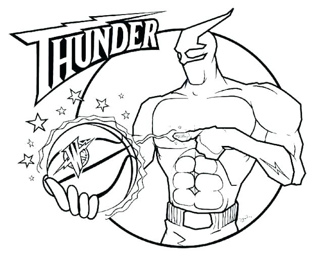 618x505 Nba Coloring Pages