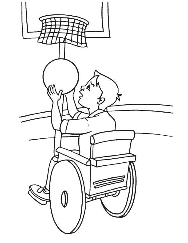 612x792 Wheelchair, Coloring Sheets