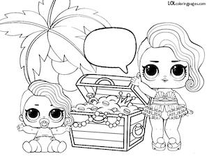 300x225 Surprise Lol Surprise Doll Coloring Pages