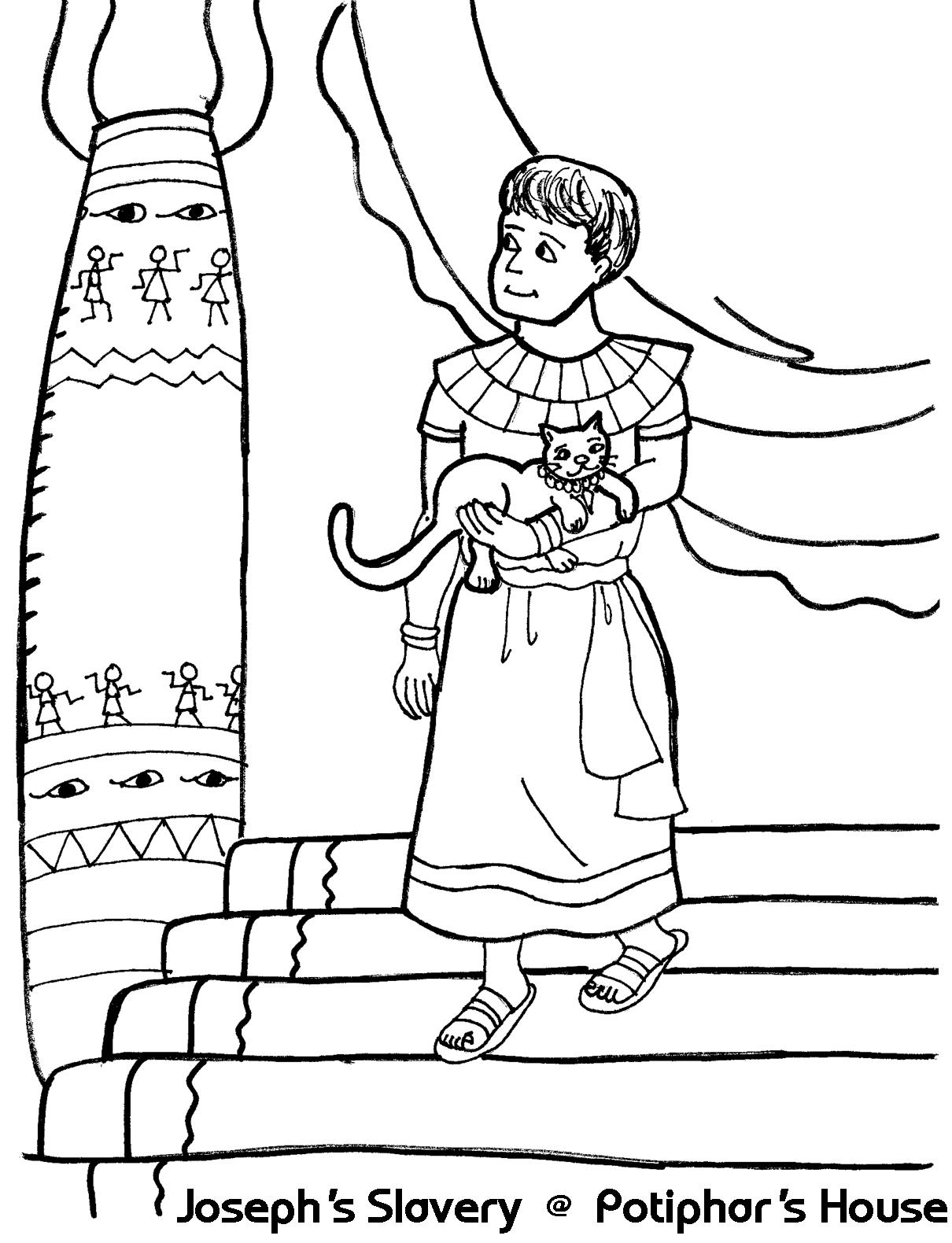 1210x1580 Joseph's Slavery