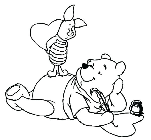 600x556 Little Bear Coloring Pages Little Bear Coloring Pages Sleeping