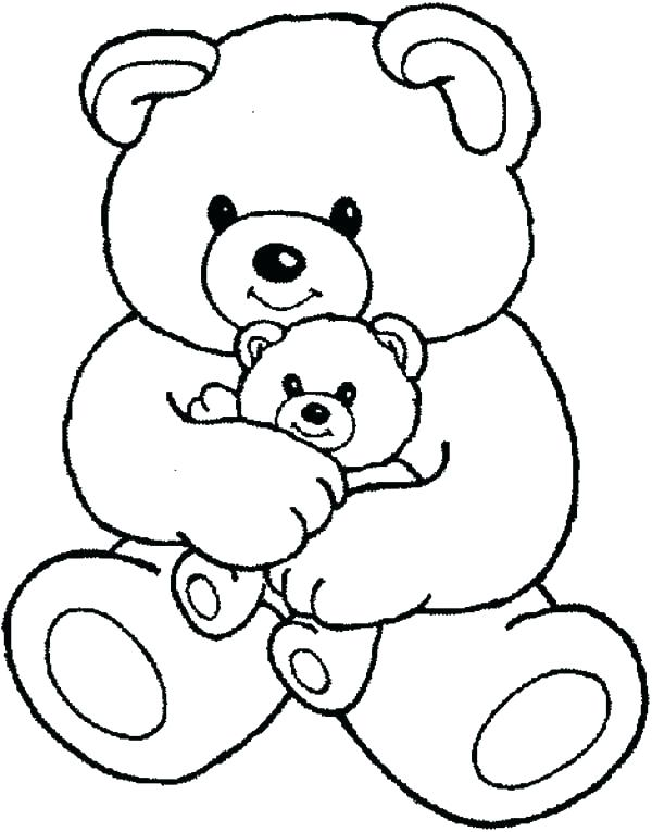 600x765 Sleeping Bear Coloring Pages To Print Printable Coloring Coloring