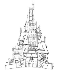 236x302 Sleeping Beauty Castle Coloring Pages Preschool In Pretty Sleeping