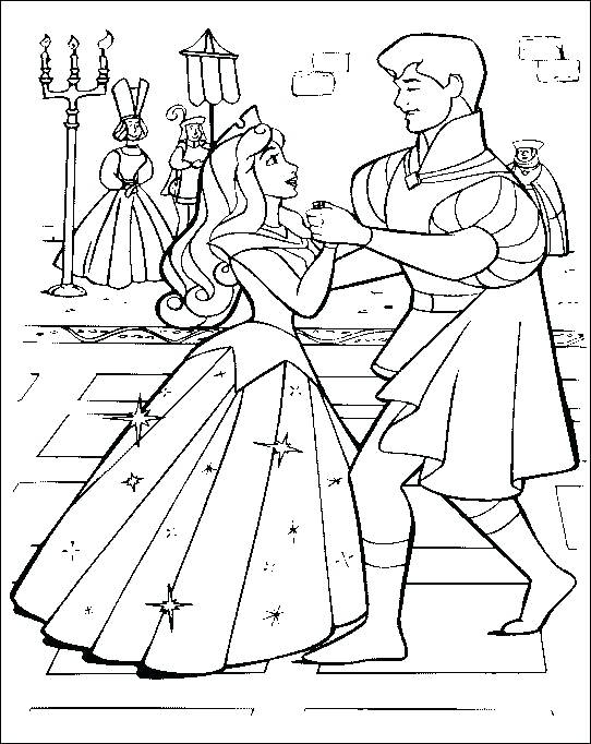 542x682 Sleeping Beauty Coloring Book Pages Printable Coloring Sleeping