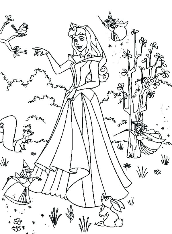 600x815 Sleeping Beauty Coloring Page Sleeping Beauty Coloring Pictures