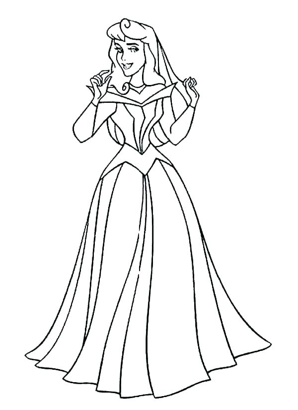 600x825 Sleeping Beauty Coloring Pages Sleeping Beauty Coloring Page