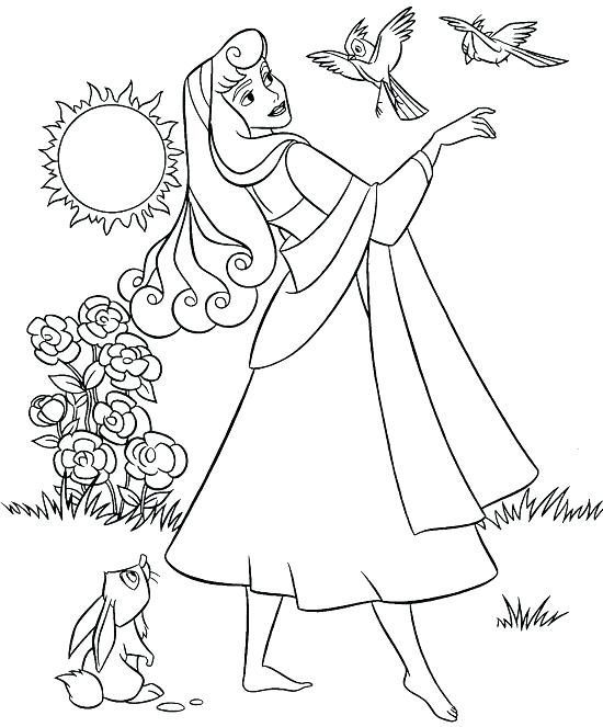 550x663 Sleeping Beauty Pictures To Color Sleeping Beauty Coloring Pages