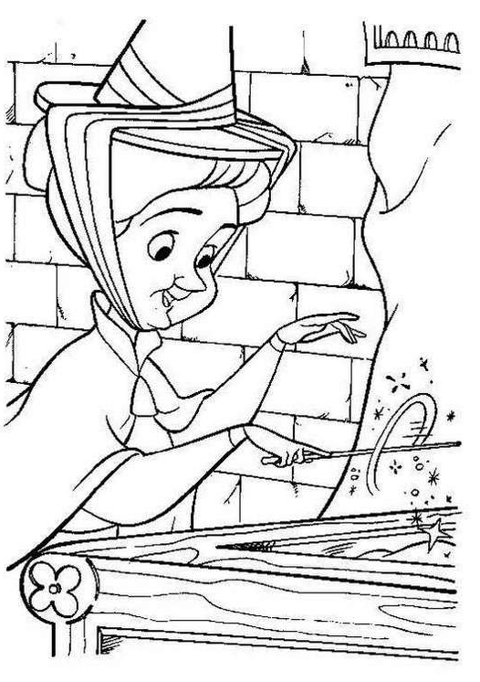 526x746 Sleeping Beauty Coloring Pages