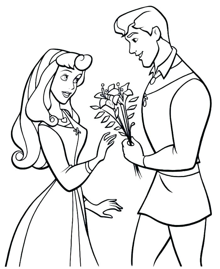700x856 Sleeping Beauty Coloring Pages Princess Aurora Coloring Page