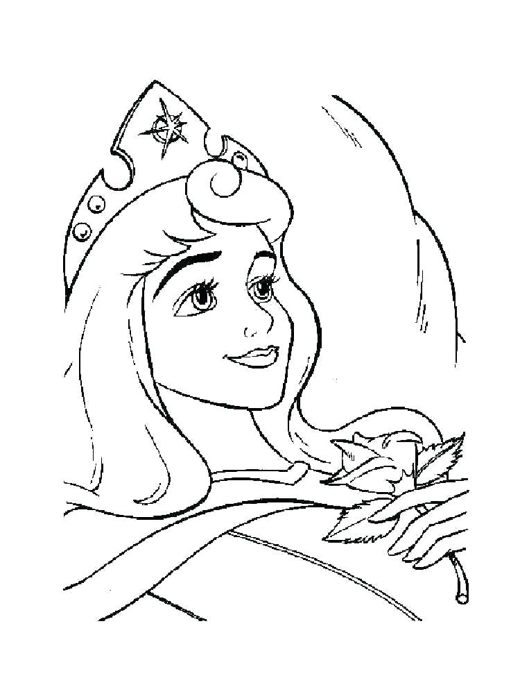 750x1000 Aurora Coloring Pages Princess Aurora Colouring Pages Print
