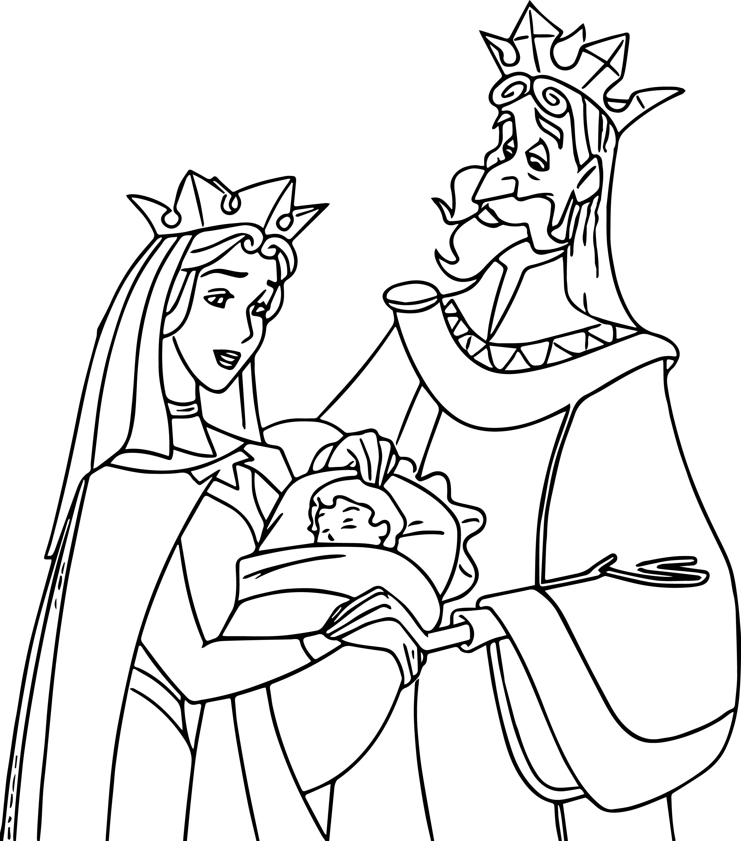 Sleeping Coloring Pages