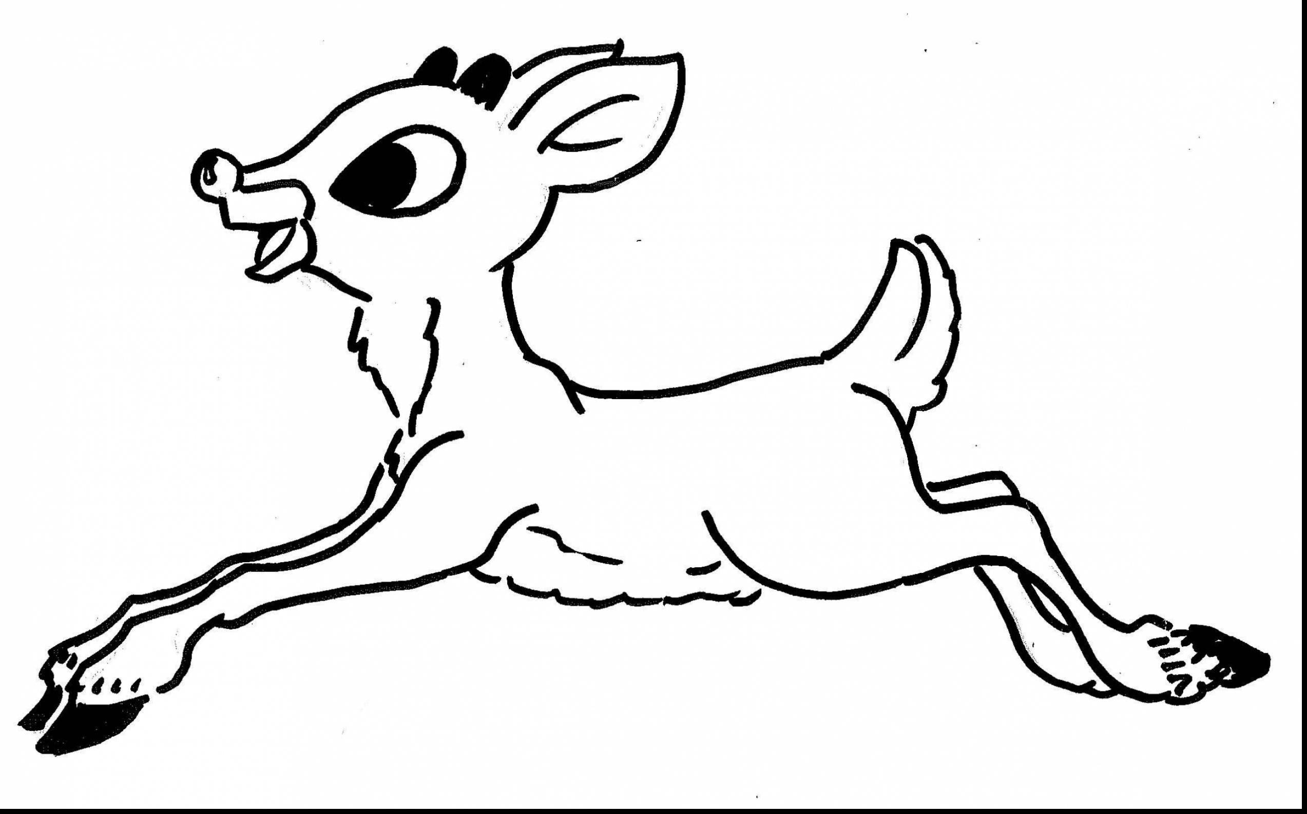 2546x1587 Sizable Rudolph The Red Nosed Reindeer Coloring Page And Santa