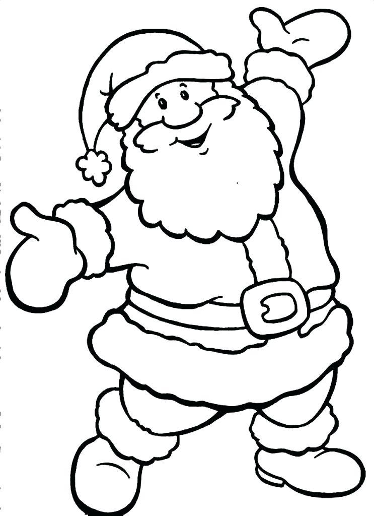 743x1024 Santa Claus Coloring Page Coloring Pages Santa Claus Sleigh