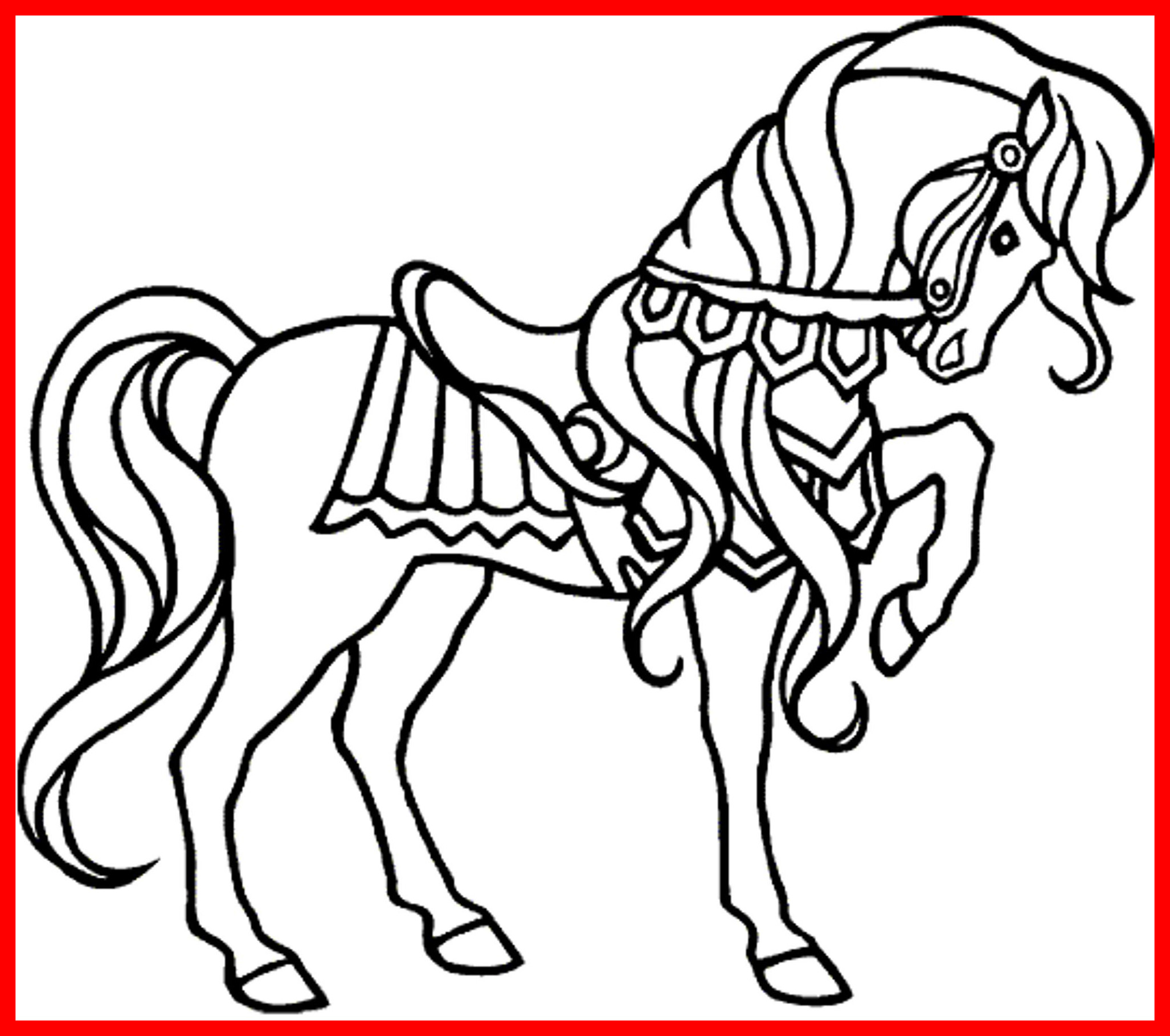 2054x1819 Appealing Horse Drawing Kids At Getdrawings For Personal Use