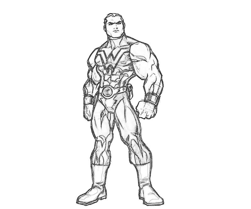 800x667 Marvel Ultimate Alliance Wonder Man Profil How Coloring