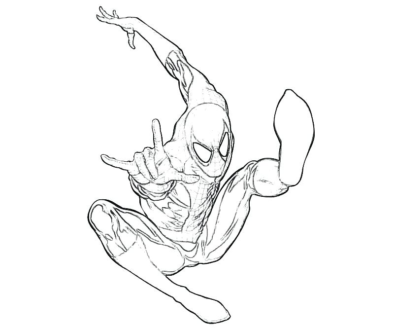 800x667 Slender Man Coloring Pages Spider Man Coloring Pages Slender Man