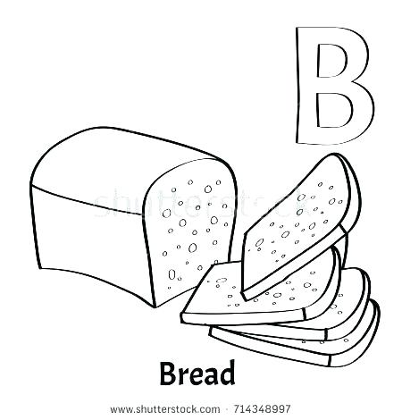 450x470 D Coloring Page Letter B Coloring Page Vector Alphabet Letter B
