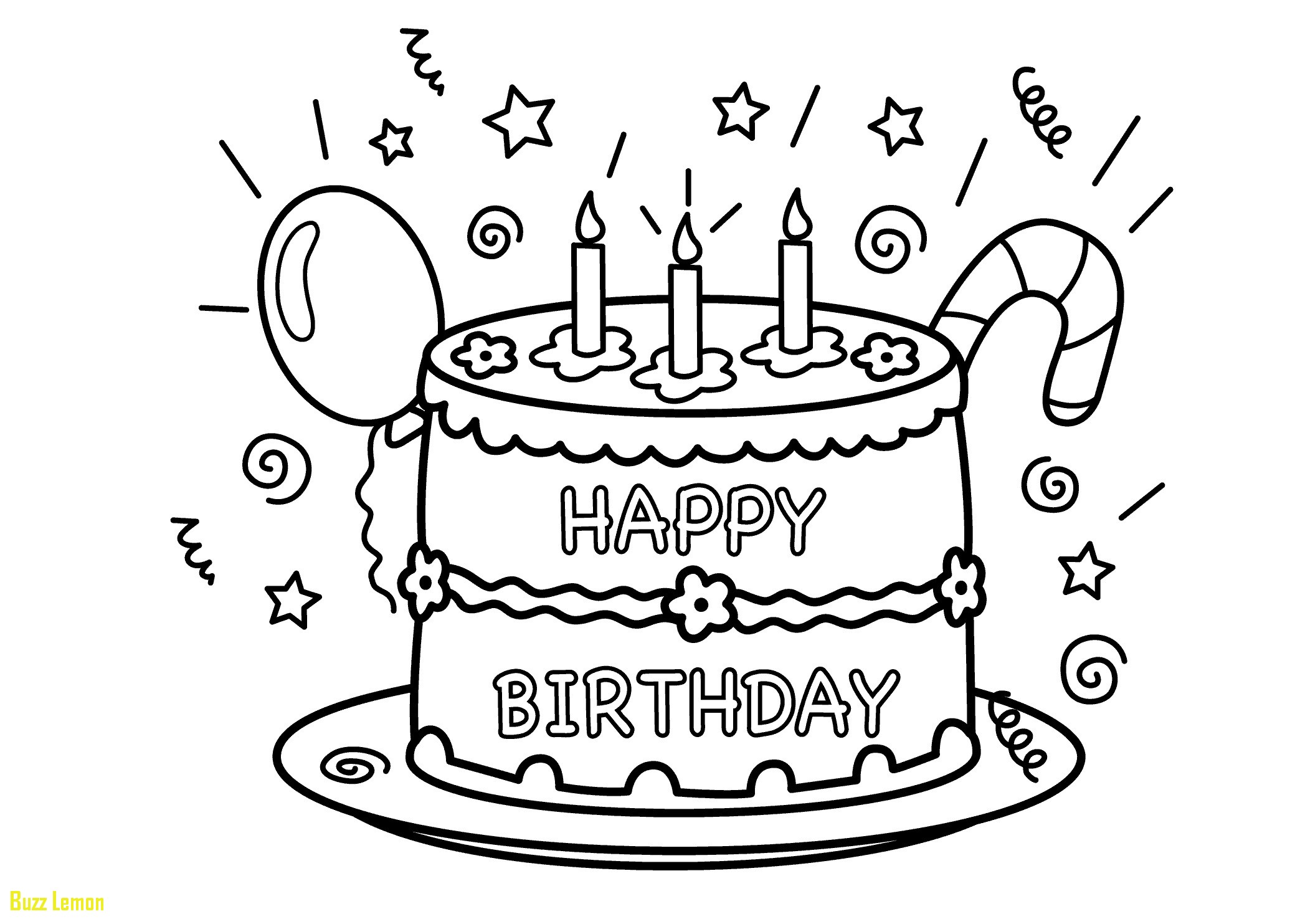 2079x1483 Unique Coloring Page Cake Buzz Coloring