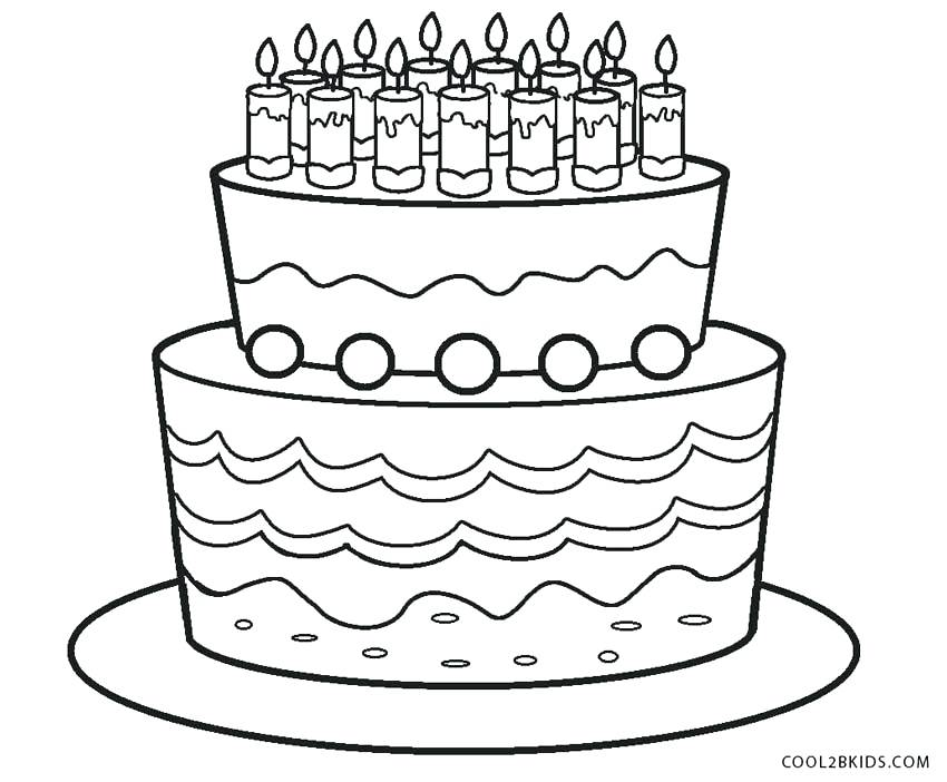 850x702 Cake Coloring Pages Fun Slice Cake Coloring Pages Minecraft Cake