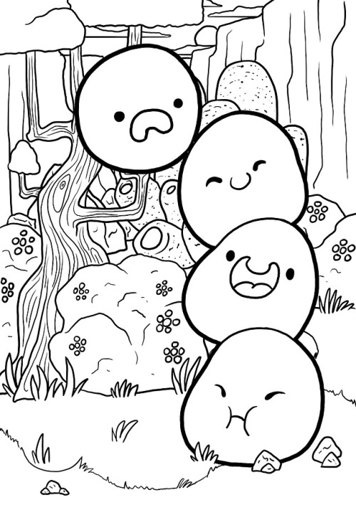 Awesome Slime Rancher Coloring Pages Design Free Viewinvite Co