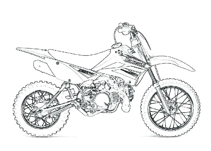 700x500 Dirtbike Coloring Pages Motorcycle Coloring Pages Kids Slot