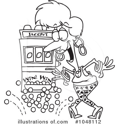 400x420 Slot Machine Coloring Pages