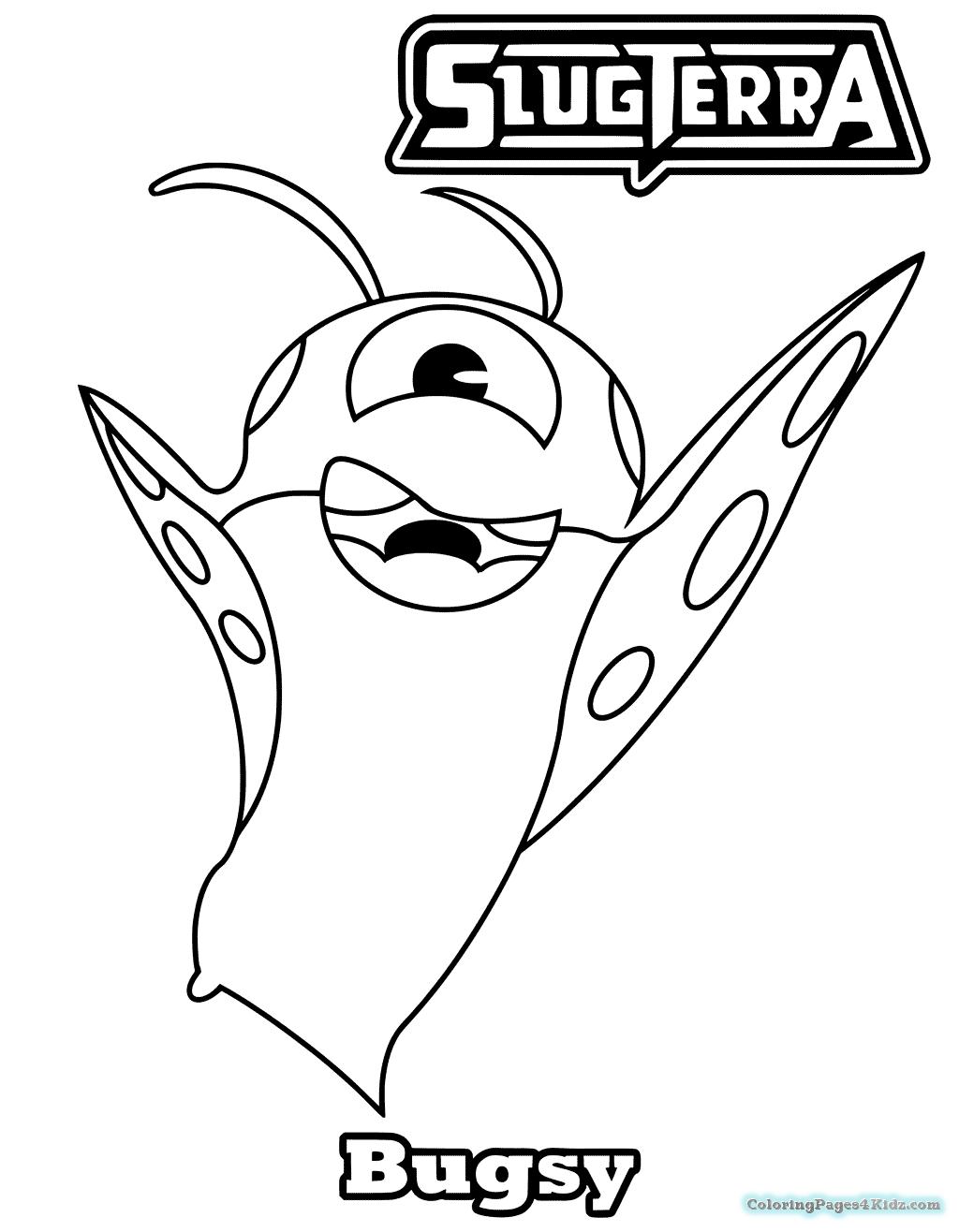 Slugterra Burpy Coloring Pages at GetDrawings.com | Free ...