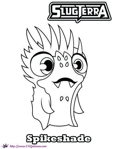 Slugterra Coloring Pages Burpy At Getdrawings Free Download