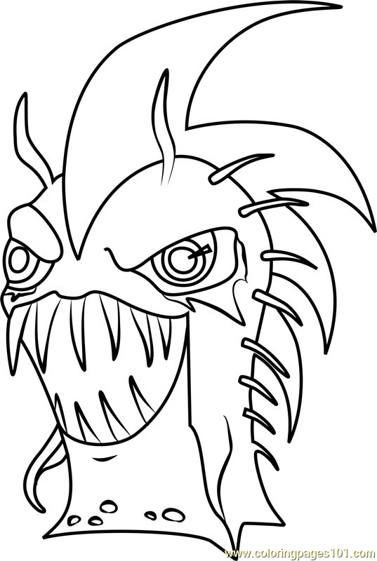 Slugterra Ghoul Coloring Pages