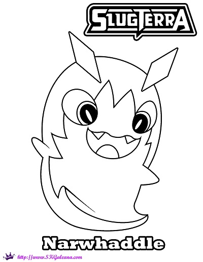 400x517 Slugterra Coloring Pages On Coloringpagesrus