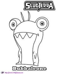 236x305 Slugterra Printables, Activities And Coloring Pages Skgaleana
