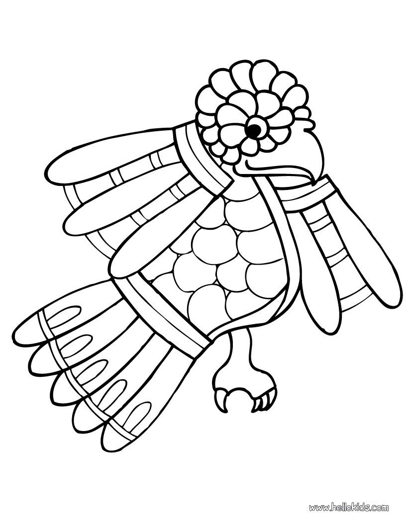 820x1060 Small Parrot Coloring Pages