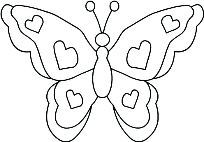 700x487 Printable Butterfly Coloring Pages Printable Butterfly Coloring