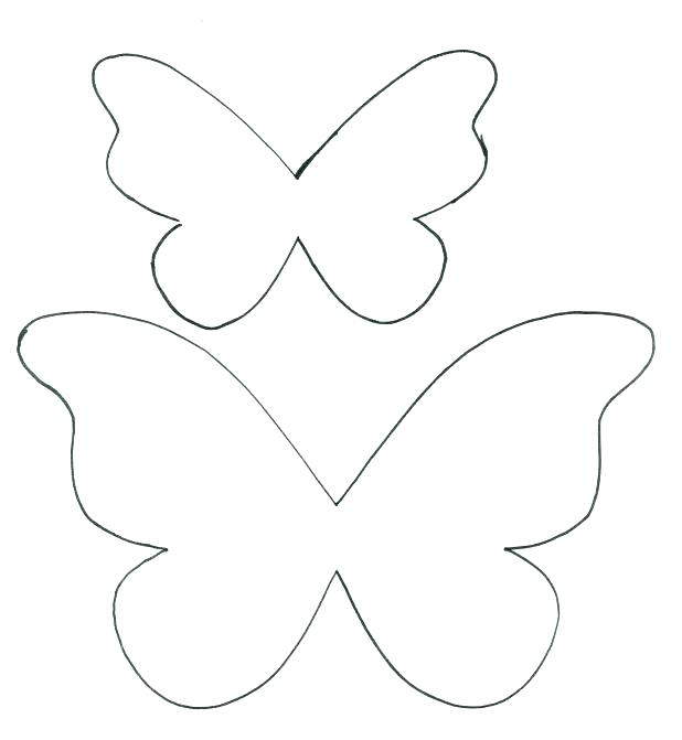 618x671 Small Butterfly Coloring Pages Butterflies Coloring Sheets