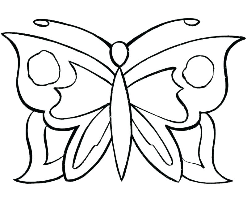 800x653 Small Butterfly Coloring Pages S S Small Butterfly Coloring Sheets