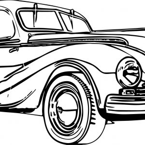 300x300 Inspiration Coloring Pages Antique Cars
